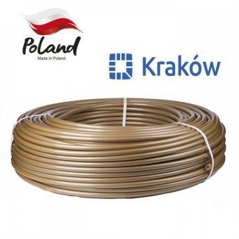 Труба для теплого пола Krakow 16x2.0 PEX-A с кислородным барьером